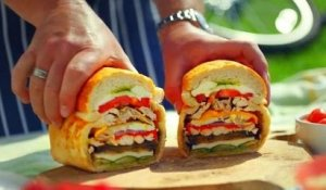 James Martin prepares delicious picnic sandwiches