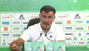 Foot - L1 - ASSE : Galtier «On joue beaucoup...»