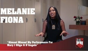 Melanie Fiona - Almost Missed My Performance For Mary J. Blige & D'Angelo (247HH Wild Tour Stories) (247HH Wild Tour Stories)