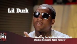 "Lil Durk - Working On My New Album ""2x"" & Studio Moments With Future (247HH Exclusive) (247HH Exclusive)"