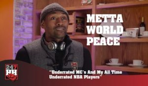 Metta World Peace - Underrated MC's And My All Time Underrated NBA Players (247HH Exclusive) (247HH Exclusive)