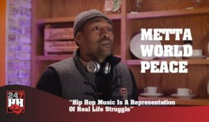 Metta World Peace - Hip Hop Music Is A Representation Of Real Life Struggle (247HH Exclusive) (247HH Exclusive)