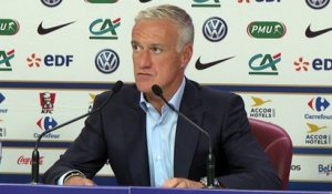Equipe de France : Deschamps justifie le choix Laporte