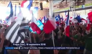 Le Front National peine à financer sa campagne