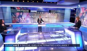 Le duel politique : à gauche, quelle alternative à Hollande ?