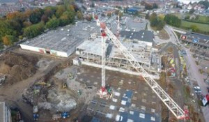 VIDEO | Le chantier des Bastions vu du ciel