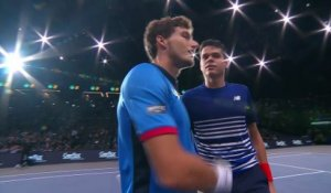 #BNPPM Highlights  Day 2 with Milos Raonic & Richard Gasquet