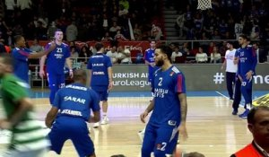 Basket - Euroligue (H) : Efes enchaîne contre le Panathinaïkos