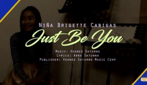 Nina Brigette Cabigas - Just Be You (Lyric Video)