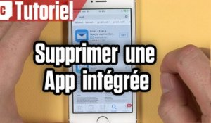 Tuto iPhone : comment supprimer les applications par défaut