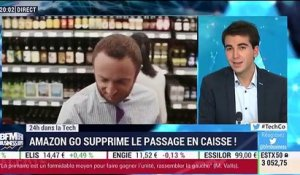 24h dans la Tech : Amazon Go supprime le passage en caisse - 05/12