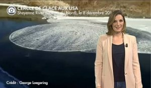 Gigantesques cercles de glace aux USA