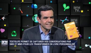 Hello Start-up : Textolife, une application permettant de capturer les messages pour les transformer en livre - 20/01