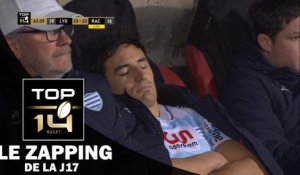 TOP 14 – Le Zapping de la J17– Saison 2016-2017