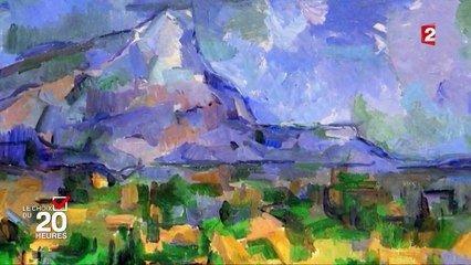 Peinture L Obsession De Paul Cezanne Pour La Montagne Sainte Victoire