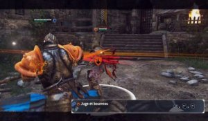 For Honor - Moveset Emissaire
