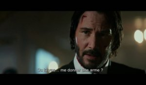 "JOHN WICK 2 - Extrait ""Gun"" VOST (Keanu Reeves, Common, Laurence Fishburne) [HD, 1280x720]"