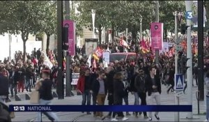 Incidents à Nantes en marge d'une manifestation anti-Marine Le Pen