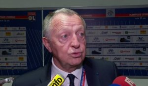 Foot - L1 - OL : Aulas «Une grande performance»