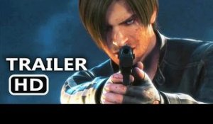 RESIDENT EVIL: VENDETTA Bande Annonce Officielle (Film d'Animation - 2017)
