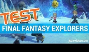 Final Fantasy Explorers : Test - Gameplay - 3DS