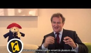 Interview Hugh Bonneville - Paddington - (2014)