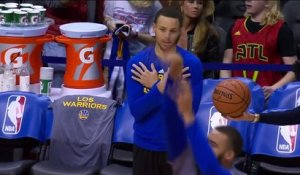 Golf, volley, foot US... L'étrange routine de Stephen Curry