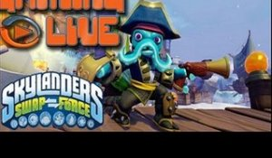 Gaming Live PS3 -  Skylanders SWAP Force - Fusion !