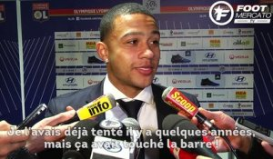 OL : Memphis Depay raconte son but d'anthologie