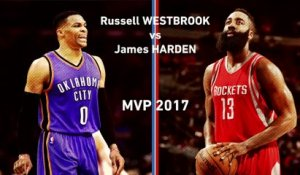 Basket - NBA : Westbrook vs Harden