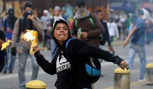Venezuela : nouvelle manifestation émaillée d'incidents