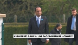 France Hollande commémore le centenaire de la bataille du Chemin des Dames - France