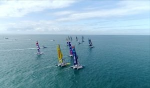 Voile - Tour de France : Victoire de Lorina Limonade, Team SFS leader