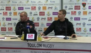 Avant-match Bordeaux/Toulon : Richard Cockerill