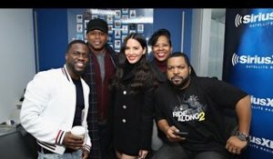 Hilarious Ride Along2 Cast Kevin Hart, Ice Cube & Olivia Munn Interview + Chocolate Droppa Freestyle