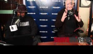Patrick Duffy Learns How to Freestyle & Earns the Rap-Name MC Fanny Pack Boy on Sway in the Morning