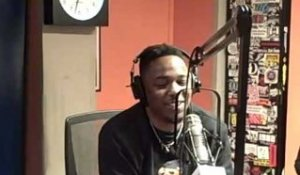 Kendrick Lamar Freestyle's on Sway In The Morning