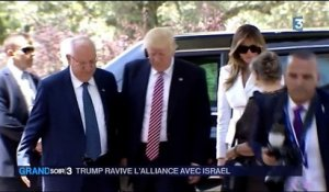 Donald Trump ravive l'alliance avec Israël