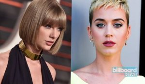 Katy Perry Finally Addresses Taylor Swift Beef in 'Carpool Karoke' | Billboard News