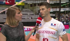 Volley - TQCM - Bleus : Rossard «Un bon match»