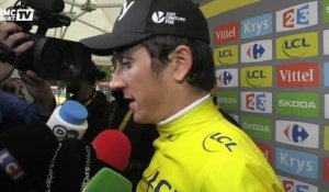 "Tour de France - Geraint Thomas : ""Un sentiment incroyable''"