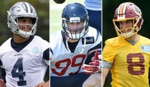 Which players are under the most pressure heading into training camp?