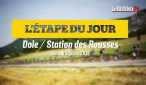 Tour de France. Etape 8 : Dole-Station des Rousses