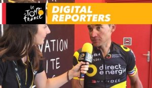 Les digital reporters avec Thomas Voeckler / Digital reporters with Thomas Voeckler - Tour de France 2017