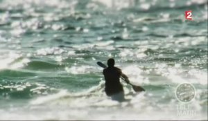 Sport - Wave-ski : pagayer en surfant