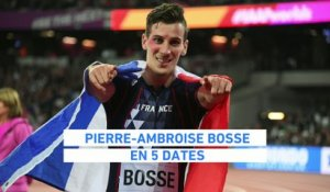 Athlé - ChM : Pierre-Ambroise Bosse en 5 dates