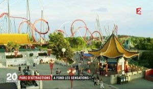 Parc d'attractions : les sensations fortes attirent les visiteurs
