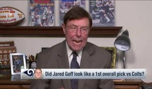 Charley Casserly explains Jared Goff's Week 1 success