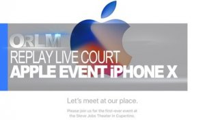 ORLM-268 : Replay Live Apple Event Version courte