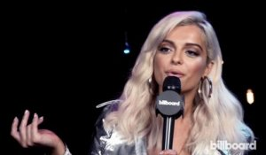 Bebe Rexha on Louis Tomlinson: 'He's So Honest and Humble' | iHeartRadio Music Fest 2017